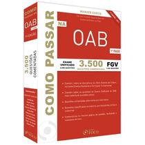 Livro Como Passar Na Oab 3.500 Questões Comentadas