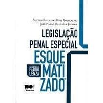 Legislação Penal Especial Esquematizado (coord.), Pedro Lenz