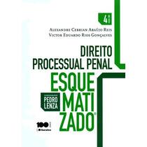 Direito Processual Penal Esquematizado - 4ª Ed. 2015