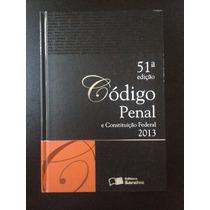 Livro Código Penal E Constituição Federal 2013 - 51ª Edição