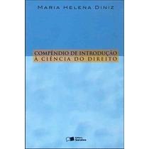 Livro Compêndio D Introdução Á Ciência Do Direito Reliquiaja
