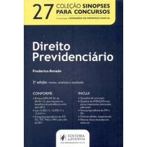 Sinopses Para Concursos, Vol. 27 - Direito Previdenciário