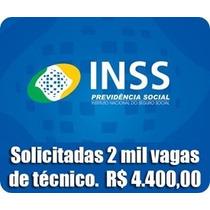 Concurso Inss Técnico Do Inss Dvd Video Aulas Apostila Inss