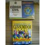 3 Livros Constituição Federal + Código Civil Brasileiro+ Cdc