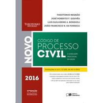 Código De Processo Civil 47ª Ed. 2016 Theotonio Negrão Novo