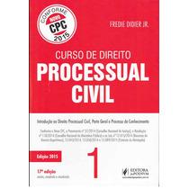 Didier - Curso 1 E 2 De Processo Civil - Ncpc Pdf2015
