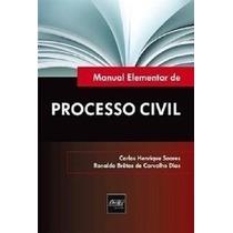 Livro Manual Elementar Processo Civil Bretas Frete Grátis!