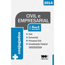Civil E Empresarial Códigos 4 Em 1 Saraiva 2014