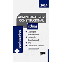 Administrativo E Constitucional - Códigos 4 Em 1 Saraiva