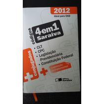 Códigos 4 Em 1 Saraiva - 2012