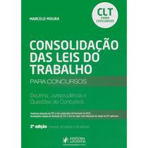 Clt Para Concursos 2012 Doutrina, Jurisprudência E Questões