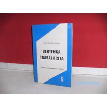 Livro Sentença Trabalhista Doutrina- Jurisprudência- Prática