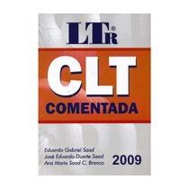 Clt Comentada Ltr 42ª Edição 2009 Eduar Saad + De 2000 Pags