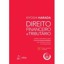 Pdf Direito Financeiro E Tributário-25ª Ed. 2016