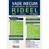 Vade Mecum Academico De Direito 2013 16° Edição