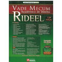 Vade Mecum Acadêmico De Direito - Rideel - 13ª Edição