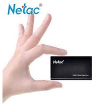 Netac Ssd De 120 Gb Usb3.0 Super Velocidade !pronta Entrega!