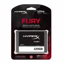 Hd Ssd 120 Gb Kingston Hyperx Fury Shfs37a/120g Sata 3 6gb/s