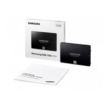 Ssd Samsung 750 Evo 250gb Sata3 6gb/s 2,5 540mb/s P. Entrega