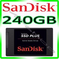 Hd Ssd 240gb Sandisk Plus - 520mb/s Sata 3 *** Original ***