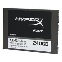 Ssd 240gb Kingston Hyperx Fury 2.5 Sata 3 6gb/s Interno