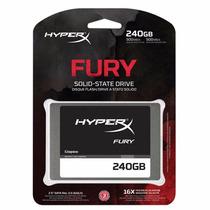 Ssd Kingston Hyperx Fury 2.5 Sata 3 6gb/s 240gb P/ Macbook