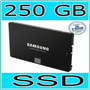 Ssd 250gb Samsung 850 Evo 3d V-nand Sata3 6gb/s 2,5 540mb/s