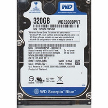 Hd P/ Netbook 320gb Sata Western Digital, Samsung, Toshiba