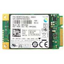 Ssd Samsung 256gb - Mini Sata/ Sata3 - Mz-mpc256d-dell