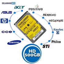 Hd 500 Gb Sata Notebook Acer Asus Cce Hp Samsung (5349)