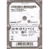 Hd Samsung P/ Notebook 500gb 5400rpm P/ Note Dell,hp,sony