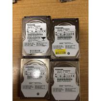 Lote 4 Hds Toshiba 640gb Com Defeito Notebook