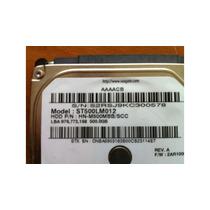 Hd Notebook Seagate 500gb Sata 2 5400rpm Com Defeito