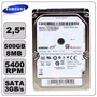 Hd Sansung 500gb, 8mb Cache, Sata 3 (notebook)