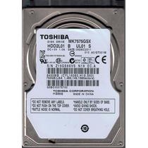Hd 750 Gb - 2.5 P/ Notebook 750gb Sata Toshiba