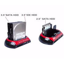 Case Hd Ide/sata All In 2 Hdd Docking Usb 2,0 / 3.0