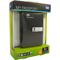 Hd Externo Portátil 1tb Western Digital Wd My Passport Usb3