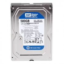Hd Western Digital Blue 500gb Sata 3 6 Gb/s 7200 Rpm 16mb