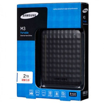 Hd Externo 2tb Samsung M3 Usb 3.0 Slimline Frete Gratis