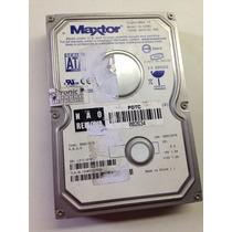 Hd Maxtor 100gb Sata Modelo 6l100m0 Defeito