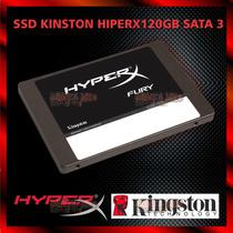 Hd Gamer Ssd Kingston Hiperx Fury 120gb Sata 3 Shf37a/120g