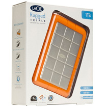 Hd Externo 1000gb Lacie Rugged 1tb Fire800 Usb3.0 301984