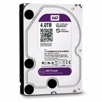 Hd Wd Western Digital Purple 4tb 64mb Sata Wd40purx
