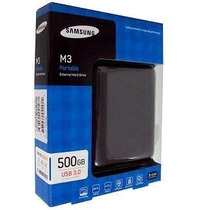 Hd Externo Samsung 500gb Portable M3 Usb 3.0