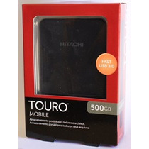 Hd Portátil Hitachi Touro Mobile 500gb Usb 3.0 Original