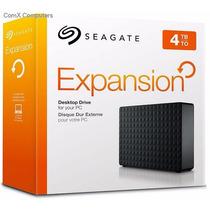 Hd Externo Seagate Expansion De 4tb Usb 3.0 E 2.0 7200rpm