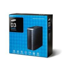 Hd Externo Portátil Samsung 3tb D3 Portable Preto