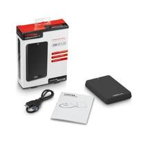 Hd Externo Portátil 1tb Toshiba Canvio Basics Usb3.0 Preto