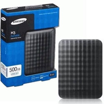 Hd Externo Usb 500gb Slim De Bolso Samsung Pc Notebook