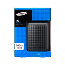 Hd Externo Portatil Bolso Samsung 500gb M3 Usb3.0 Super Slim